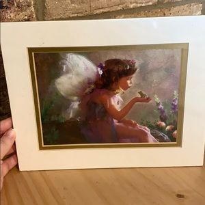 Fairy frog kiss print